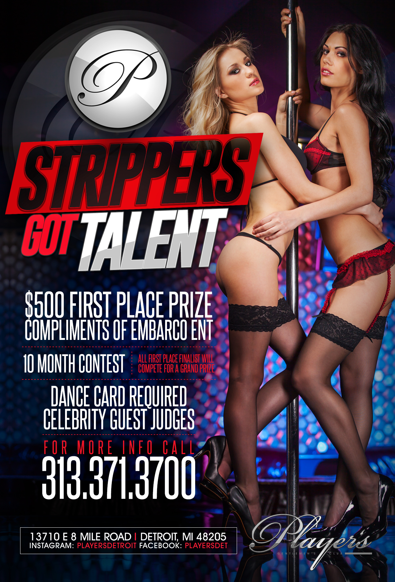 Female strippers detroit